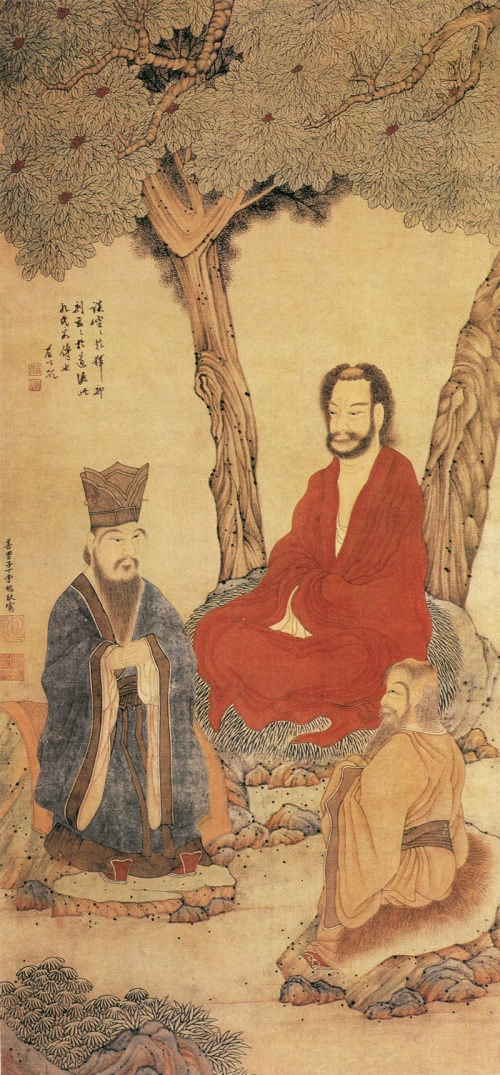 a comparison of the doctrines of confucianism and buddhism two asian religions Confucianism is the main ancient philosophy of china it implicitly embodies key aspects of chinese culture confucian beliefs have constantly changed and developed over the past 2,500 years.